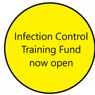 Infection control training fund now open